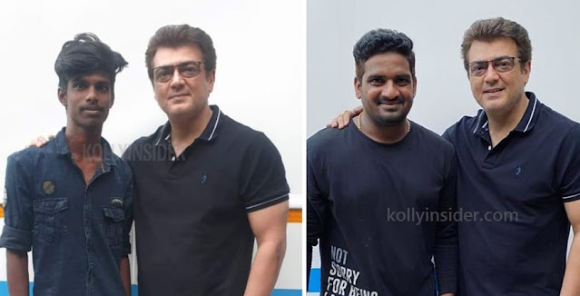 Ajith's pictures on the sets of 'Valimai' goes viral