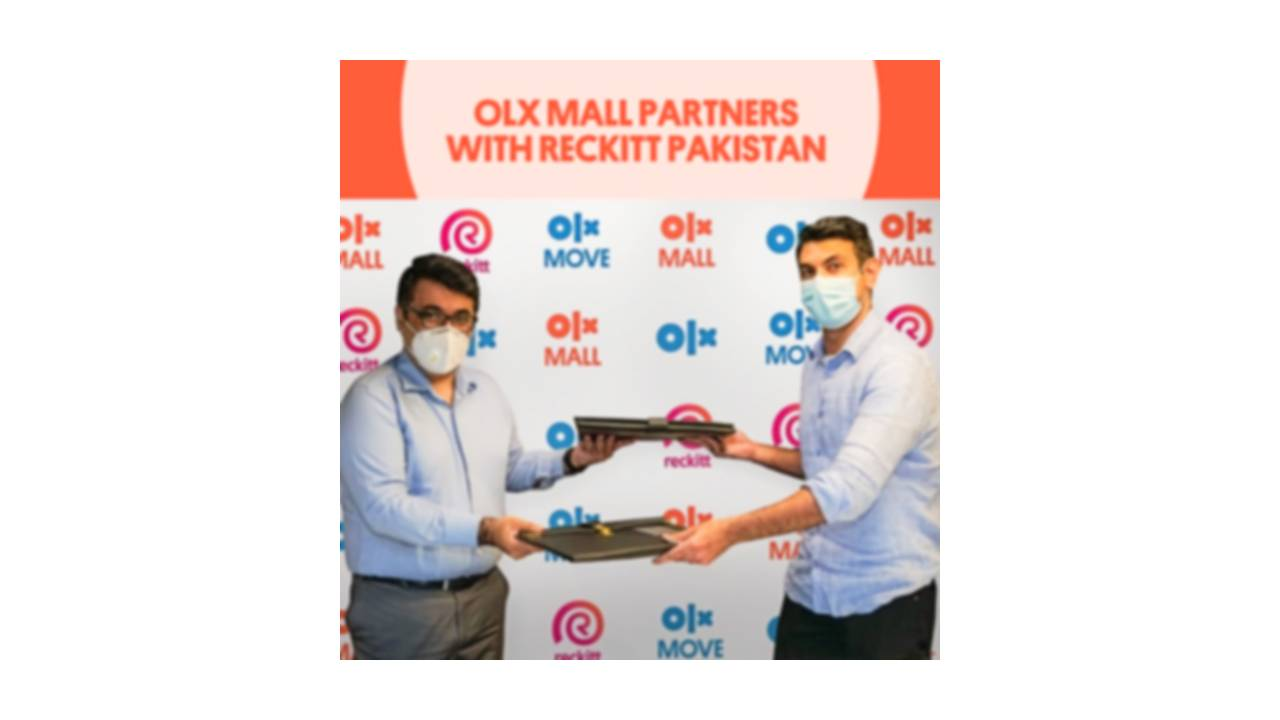 Reckitt Pakistan Collaborates with OLX to Offer a Wide Range of Products on OLX Mall