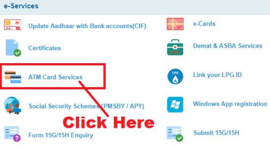 how to generate sbi atm pin through netbanking