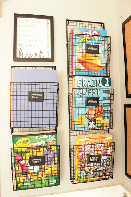 kids reading nook wire shelves