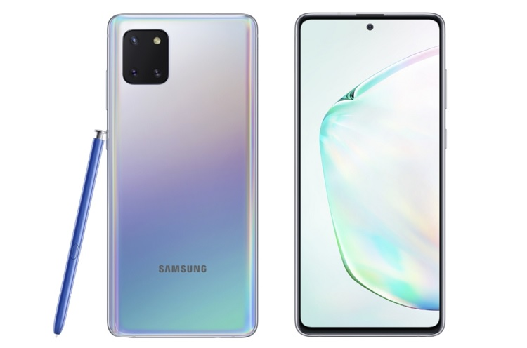 Samsung Galaxy Note 10 Lite Now Official