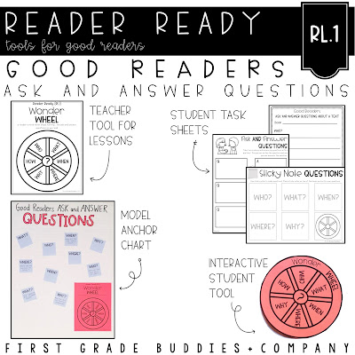 https://www.teacherspayteachers.com/Product/Reading-Comprehension-Strategy-Pack-for-RL1-Ask-and-Answer-Questions-4636074