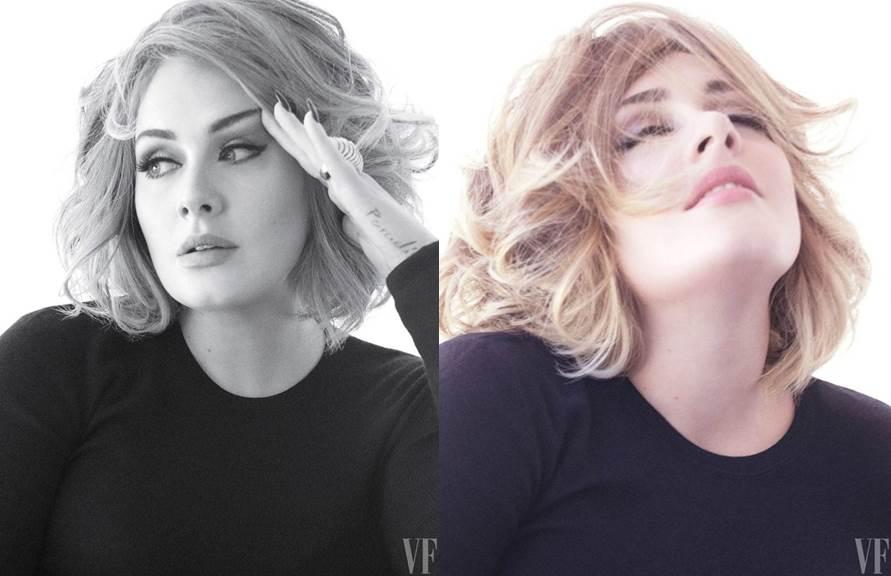 """Adele para a revista """"Vanity Fair"""", um tiro em beleza"""