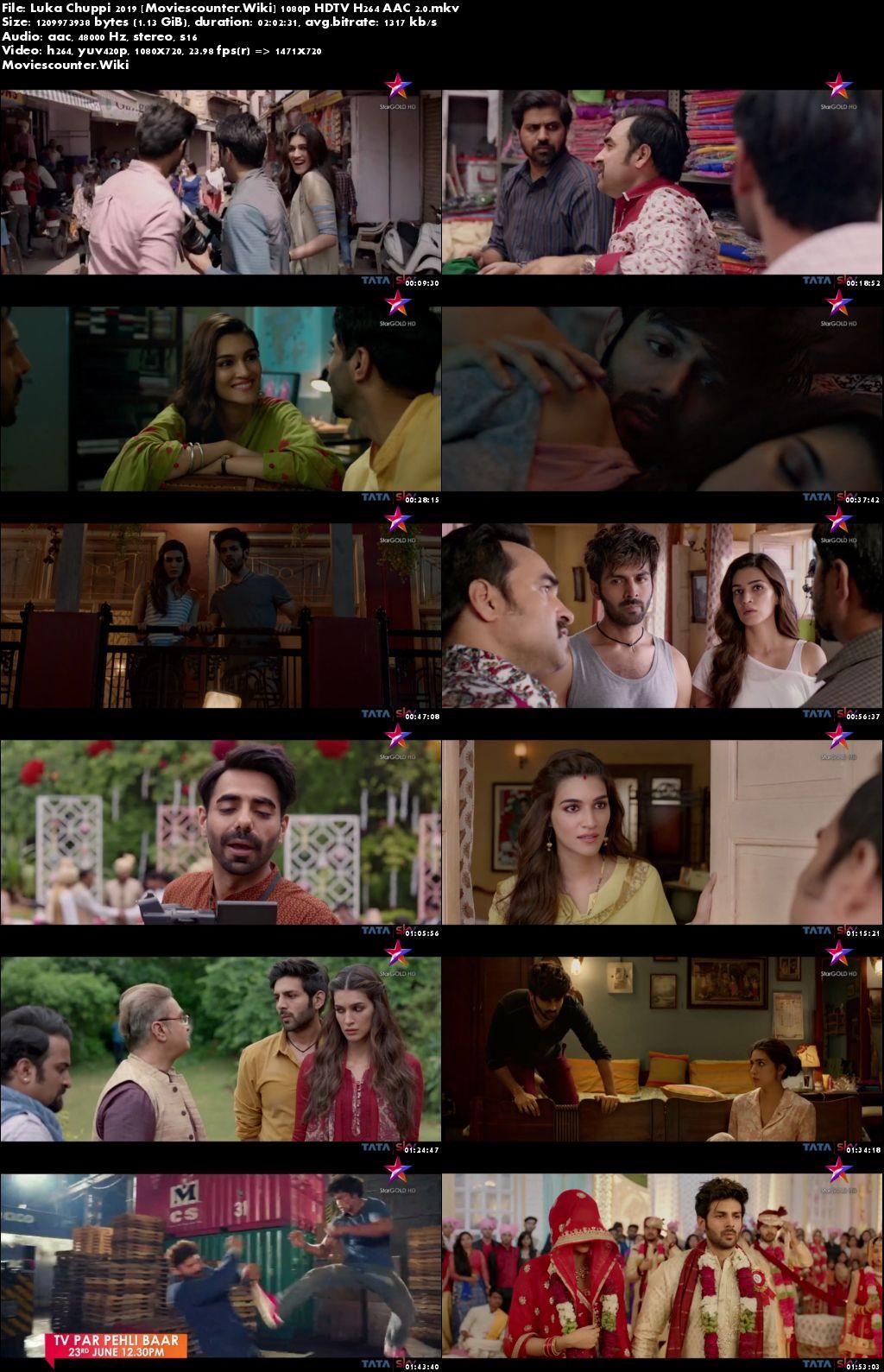 Screen Shots Luka Chuppi 2019 Hindi HD 1080p