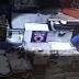 Antes de roubar cofre de doações mulher faz sinal da cruz; vídeo