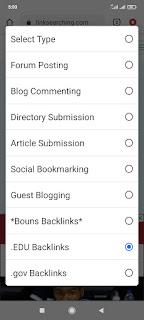 cara mendapatkan backlink berkualitas menggunakan Linksearcing