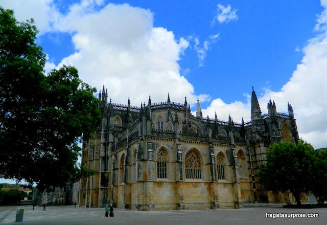 Fachada do Mosteiro da Batalha, Portugal