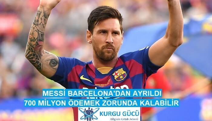 Messi Barcelona'dan Ayrılırsa 700 Milyon Euro Ödemek Zorunda! - Kurgu Gücü