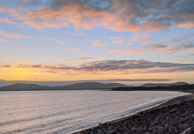 Sunset over Waterville Ireland