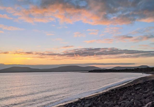 Sunset over Waterville Ireland