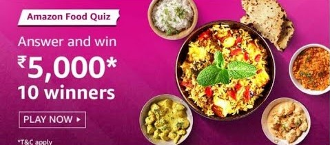Amazon Food Quiz Answers