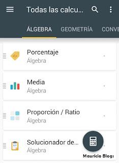 como resolver operaciones de algebra en android