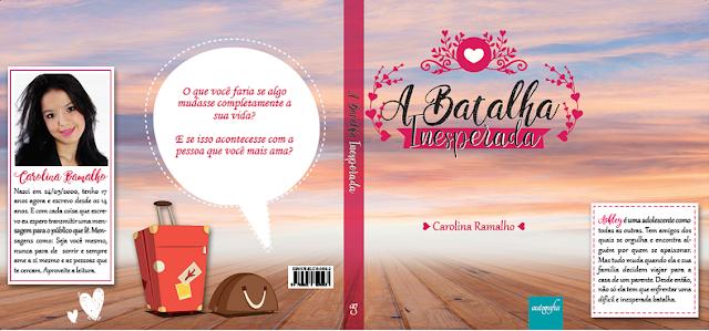 """Lançamento do livro """"A Batalha Inesperada"""", de Carolina Ramalho - Editora Autografia"""