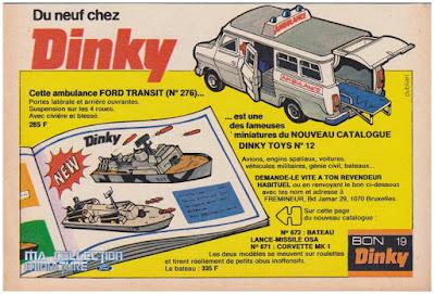 Dinky Toys, Ambulance Ford Transit