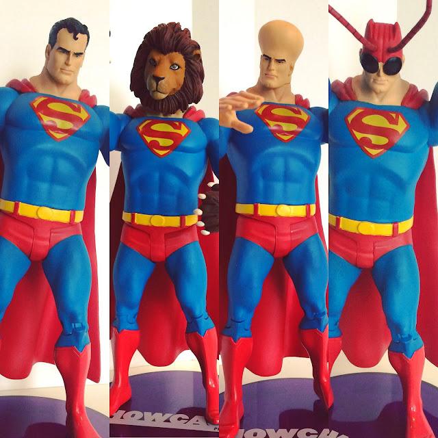 Red Kryptonite Superman figure