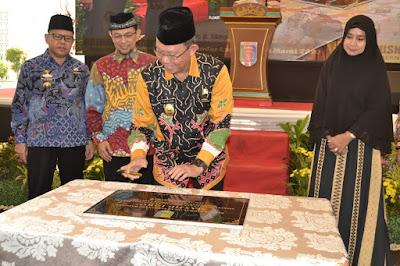 Sekda Provinsi Lampung Resmikan Masjid Iqro Dinas Pendidikan dan Kebudayaan Provinsi Lampung