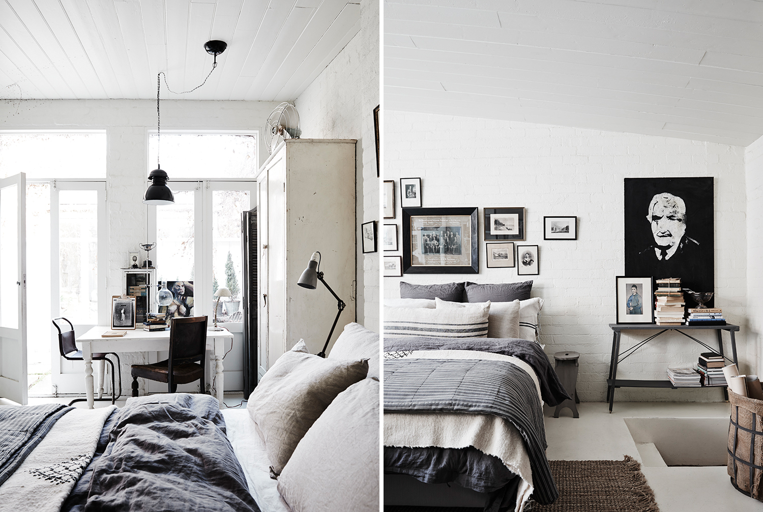 The white room shabby chic interiors - Camera industrial chic ...