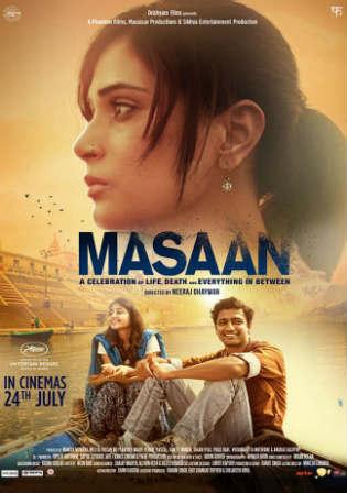 Masaan 2015 BluRay 750MB Full Hindi Movie Download 720p