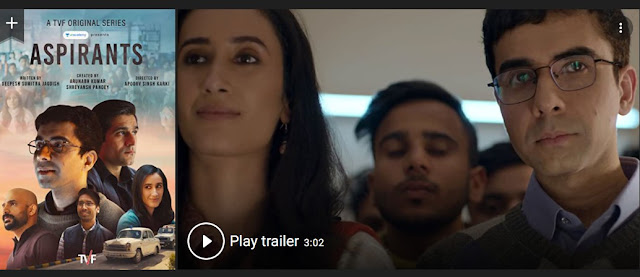 Play Aspirants (2021) Web Series Trailer online for free