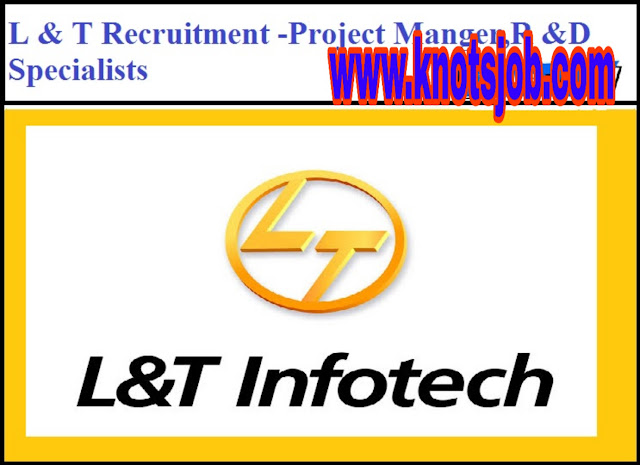 L & T Recruitment 2019 for Civil Engineers