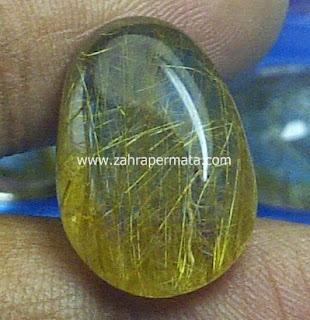 Batu Permata Rutile Quartz - ZP 464