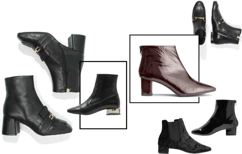 buty na zimę, botki, skórzane buty