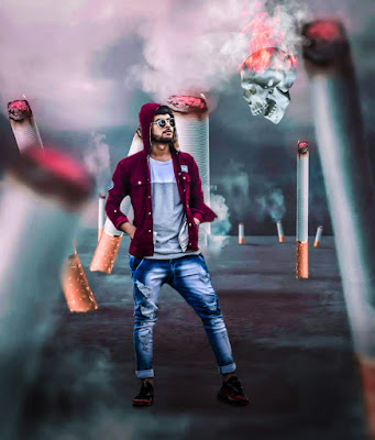 Smoking Kills picsart photo editing manipulation 2019, Picsart background change photo editing stocks 2019