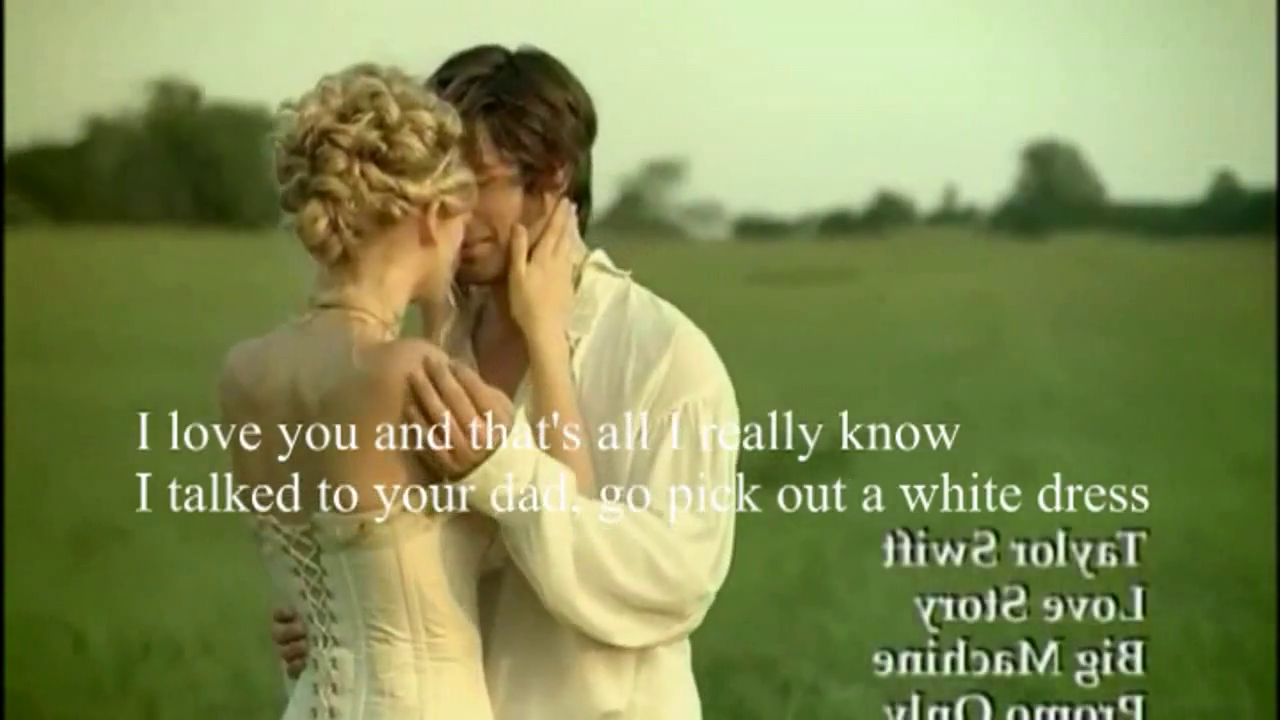 Love Story - Taylor Swift Video Song 720P Hd - Hd4World-8637