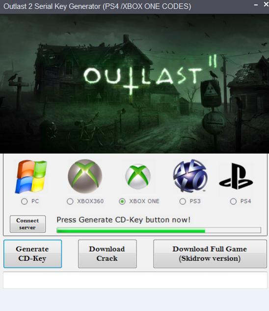Outlast 2 Cd Key Generator