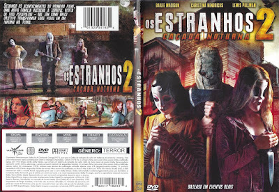 Filme Os Estranhos - Caçada Noturna (The Strangers - Prey at Night) DVD Capa