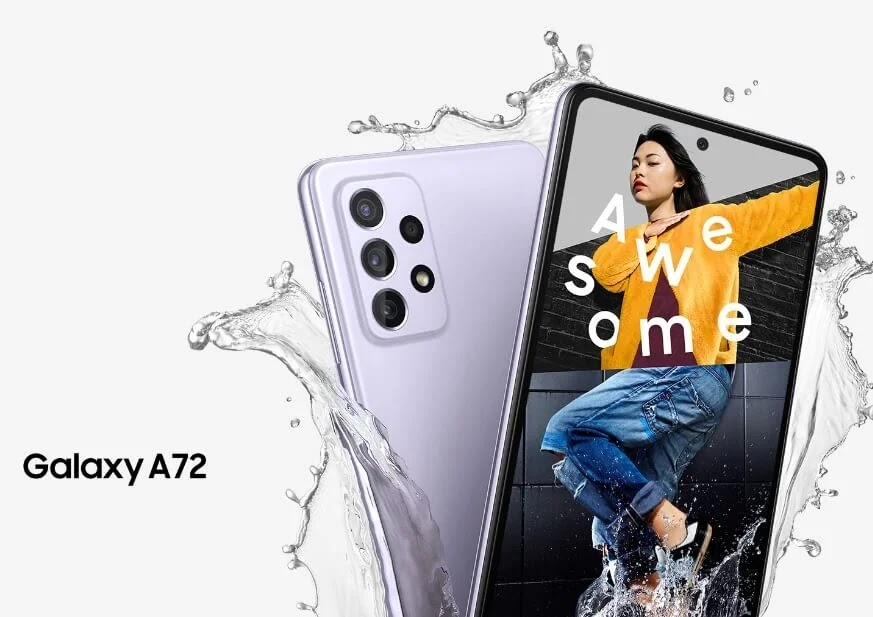 DEAL ALERT: Samsung Galaxy A72 on Sale this 5.5 for Only Php22,990 with Free Waterproof Bluetooth Speaker