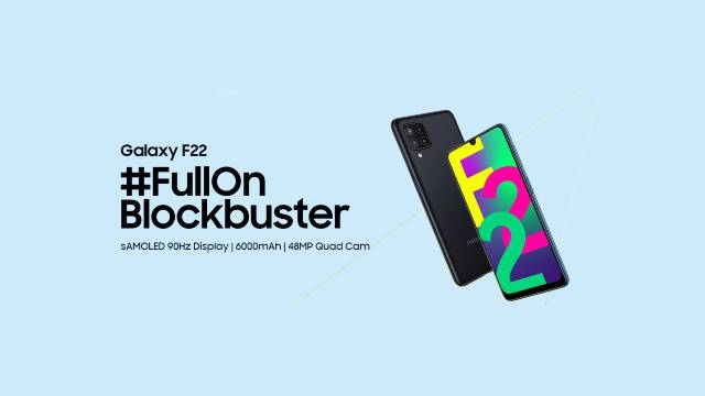 Samsung Galaxy F22 With 6,000mAh Battery, Quad Rear Cameras Launched in Nepal: Check Price, Specs