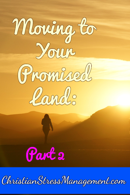 Moving to Your Promised Land: Part 2