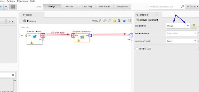 tutorial sentiment analyst menggunakan rapidminer untuk mengambil data dari twitter