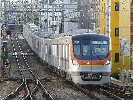 東急東横線 特急 元町・中華街行き6 東京メトロ17000系
