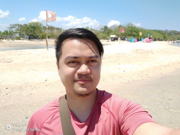 Vivo V9 Sample Selfie Photo