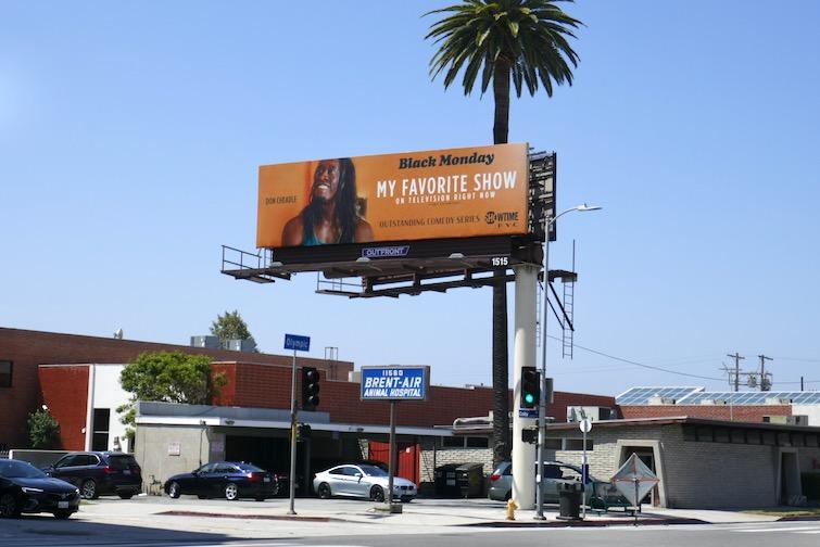Black Monday 2020 Emmy FYC billboard
