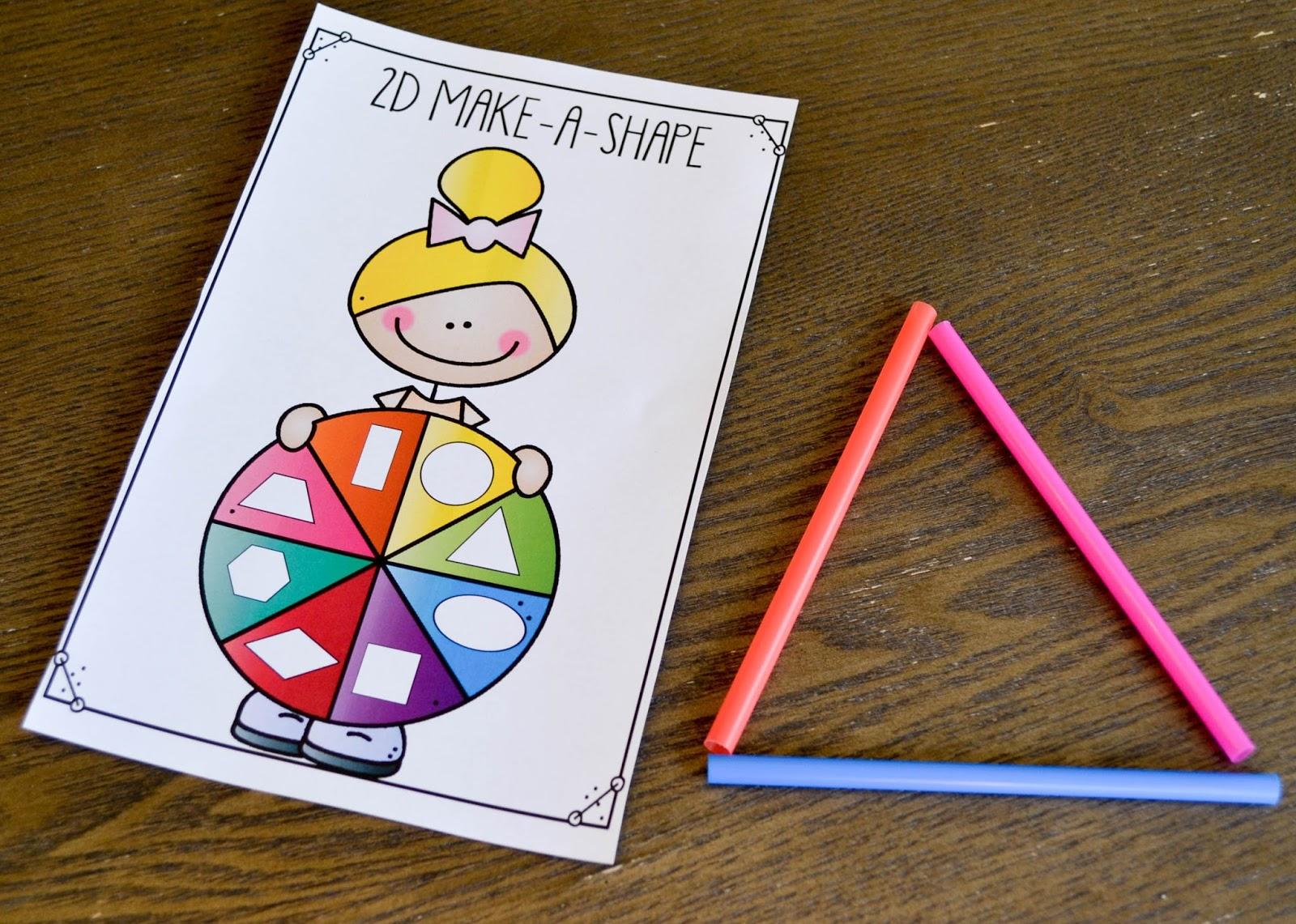 2D and 3D Shape Activities! - Susan Jones [ 1141 x 1600 Pixel ]