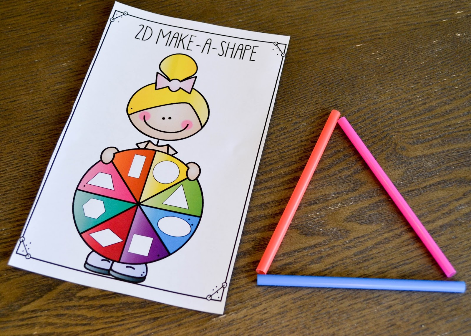 hight resolution of 2D and 3D Shape Activities! - Susan Jones