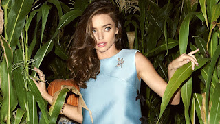 Hot Super Model Miranda kerr Harpers Bazaar