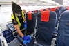 Risk of virus transmission by being seated next to a passenger on board an aircraft is low