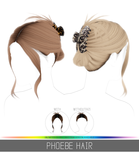 PHOEBE HAIR (PATREON)