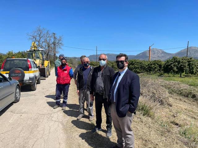 Μαλτέζος: Στόχος μας να προστατεύουμε την Αργολίδα από θεομηνίες και πυρκαγιές