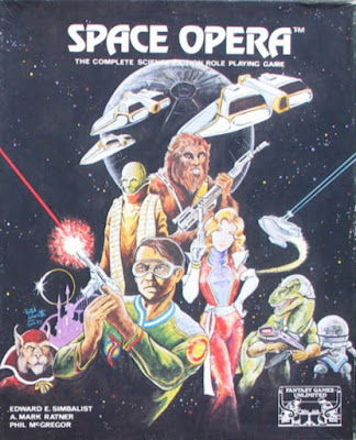 Space Opera, 2nd Edition, 2nd cover