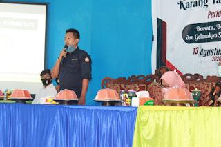 Penegasan Ketua Karang Taruna Kabupaten Sinjai Terhadap Pengurus Karang Taruna Desa Aska