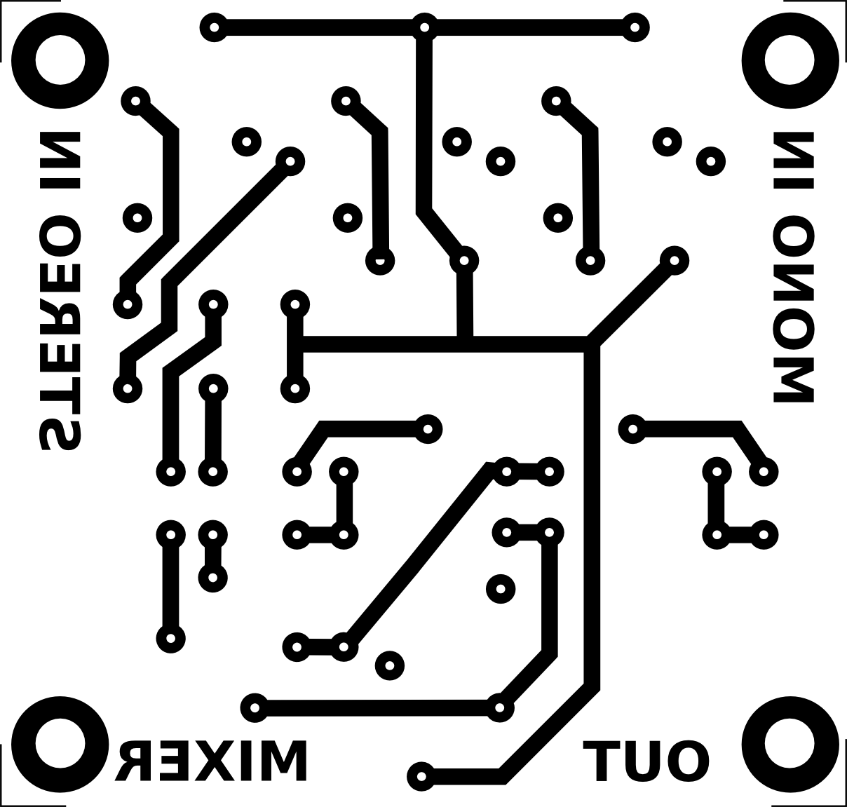 Therandomlab Simple Passive Mono Stereo To Audio Mixer Circuit 4 Channel Diagram Wiring Board 600dpi Aprox 51x485mm
