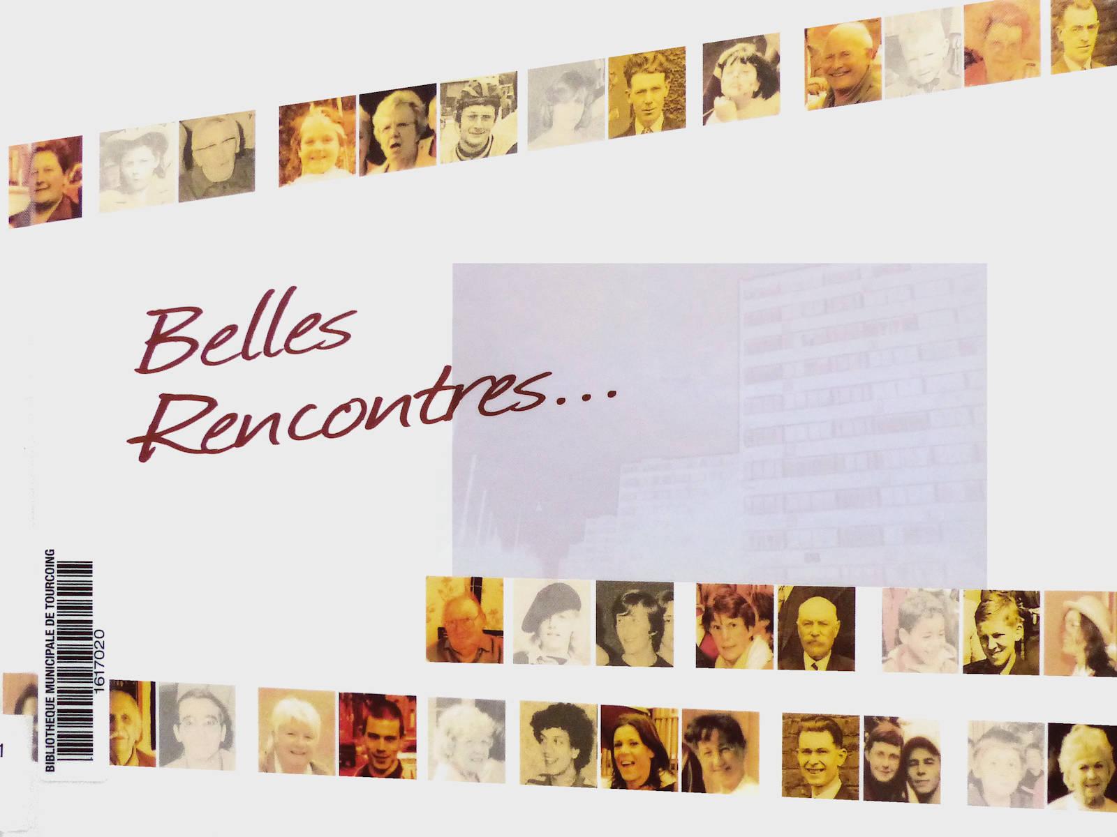 Couverture du livre Belles Rencontres, Tourcoing 2010.