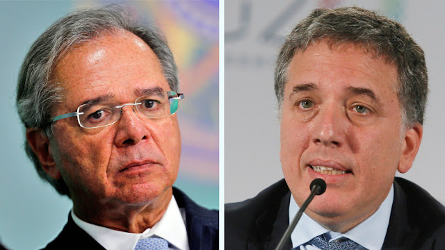 """Gobierno de Brasil apoya """"totalmente"""" el plan económico de Argentina en medio de la crisis"""