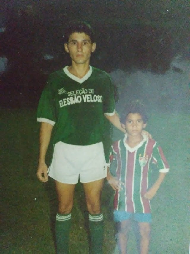 """PAPO DE BOLA- Profissional por apenas dois anos pelo Flamengo-PI e destaque por várias seleções do Piauí, zagueiro Joniel se orgulha por sua trajetória como boleiro: """"joguei contra jogadores a nível de seleção"""""""
