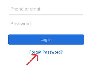 Facebook ka Password Bhul Gaya Kaise Khole